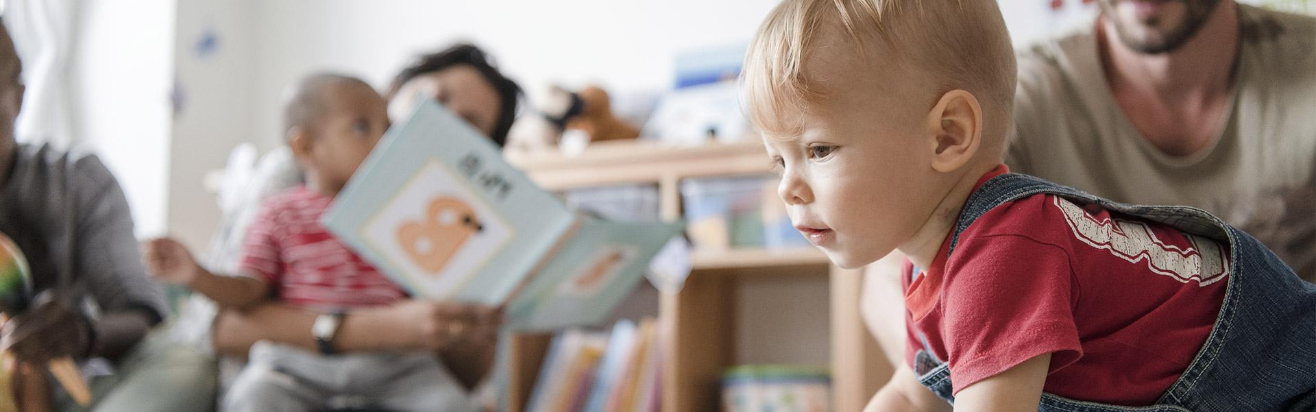 Un enfant gardé par la crèche Les Petits Mousses